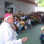 Dom Emílio em visita pastoral